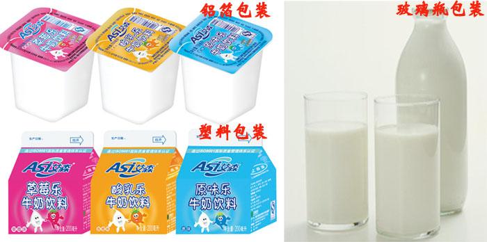 牛奶的包装材料
