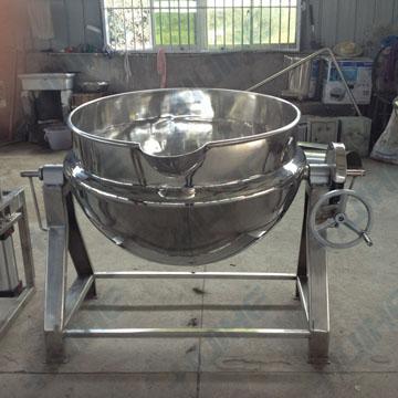 夹层锅的基本结构及安装