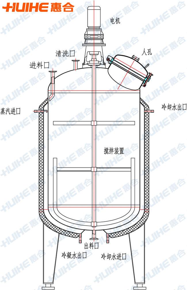电炒锅内部结构图图片