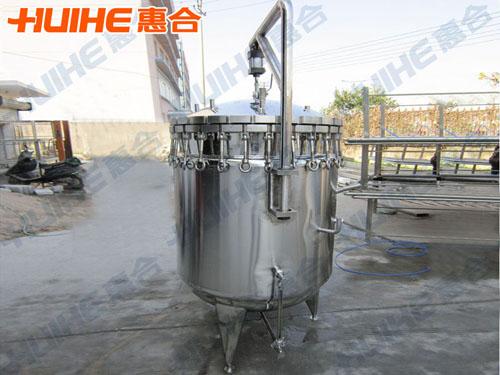 乳化罐各个系统结构及特点介绍