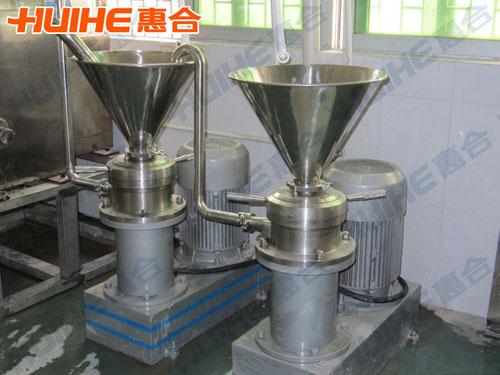 胶体磨对溶胶的制备 胶体磨技术优势及结构优势