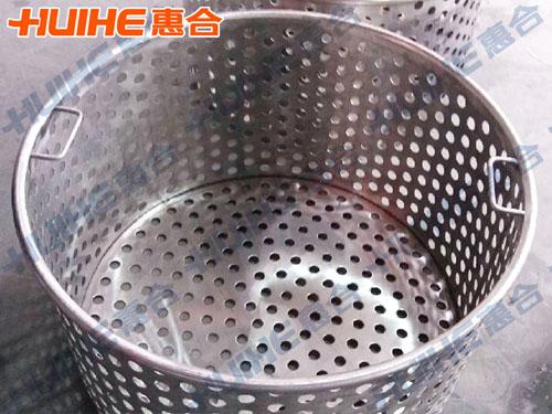 高压卫生级不锈钢燃气蒸煮锅蒸煮篮展示