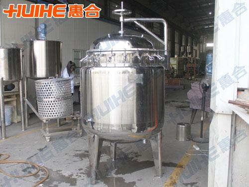 400L蒸煮锅成品图