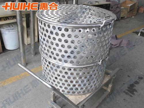 400L蒸煮锅蒸煮篮成品图